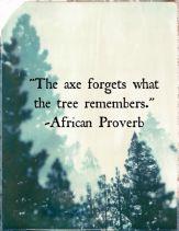 Axe Quote