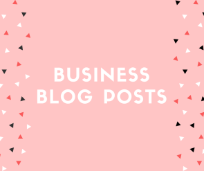 biz blog posts