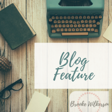 BLOG FEATURE