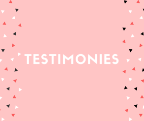 Testimonies block